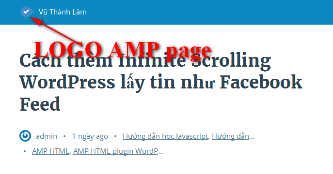 Thay logo cho theme WordPress Accelerated Mobile Pages AMP HTML 2016-03-01_102229