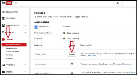 8 Bước kiếm tiền Youtube với Google Adsense image-2