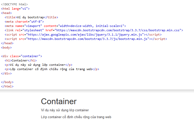 Bootstrap là gì? Cách sử dụng bootstrap trong thiết kế website. hinh-anh6