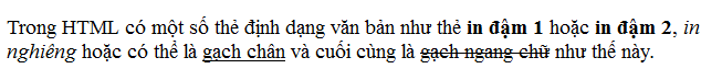 Các thẻ heading và định dạng chữ viết trong văn bản ket-qua-the-dinh-dang-van-ban