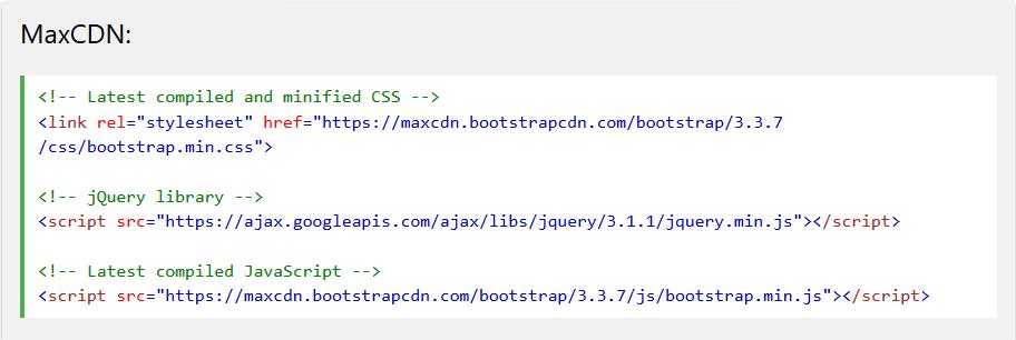 Bootstrap là gì? Cách sử dụng bootstrap trong thiết kế website. link-bootstrap