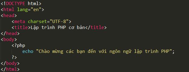 Lập trình PHP cơ bản php2