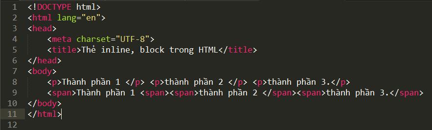 Thẻ span và thẻ div trong HTML the-inline-block-trong-html