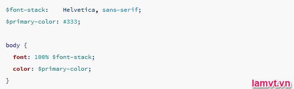 Hướng dẫn sử dụng SASS để tiết kiệm thời gian viết CSS 1-2