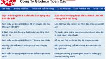 Gieo diện trang web Glodeco.com.vn