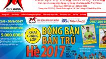 Trang web bóng bàn Duy Hưng