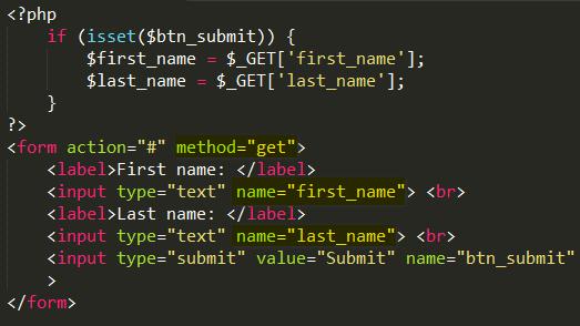 Phương thức GET và POST trong PHP get_method