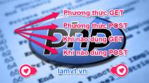 phương thức get và post trong PHP