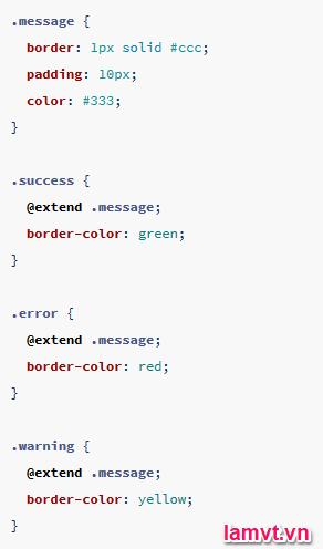Hướng dẫn sử dụng SASS để tiết kiệm thời gian viết CSS inherit