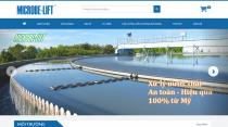 Hình ảnh trang chủ Microbelift.vn