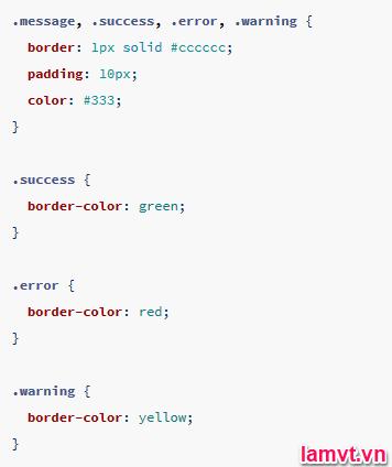 Hướng dẫn sử dụng SASS để tiết kiệm thời gian viết CSS result_inherit