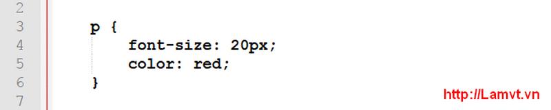 Vùng chọn trong CSS (CSS Selector) selector-a