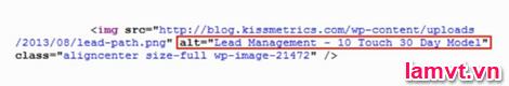 Tối ưu hóa mã nguồn Code Web cho SEO img_tag