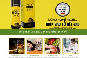 Landing page nghệ micell