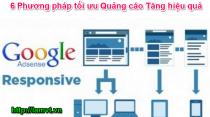 Google Adsence: 6 Phương pháp tối ưu Quảng cáo Tăng hiệu quả