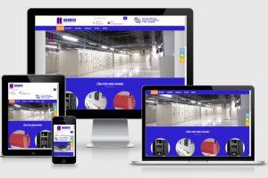 Thiết kế website tủ điện