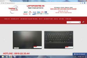 Thiết kế website Laptopcentre