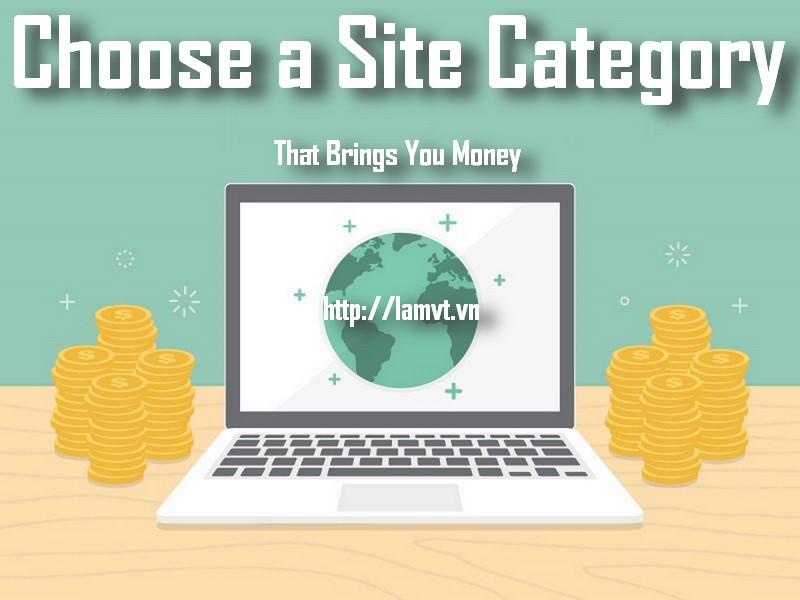 Làm thế nào để chọn lựa thể loại Website mang lại lợi nhuận?