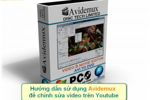 avidemux chinh sua video tren youtube