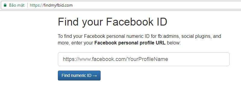Cách lấy UID Facebook và áp dụng UID Facebook trong Kinh doanh Online fb-uid-5