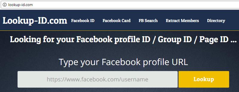 Cách lấy UID Facebook và áp dụng UID Facebook trong Kinh doanh Online fb-uid-6
