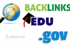 Mẹo có được Backlink .edu và .gov hiệu quả nhất