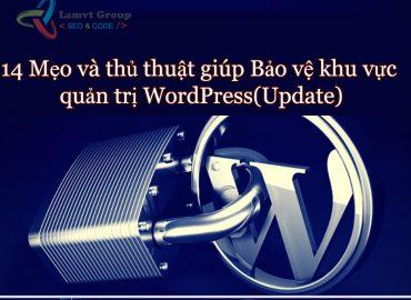 14 meo de bao ve khu vuc quan tri wordpress