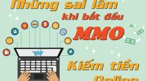 Những sai lầm khi bắt đầu với các hình thức kiếm tiền online (MMO)