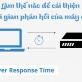 Làm thế nào để cải thiện thời gian phản hồi của máy chủ