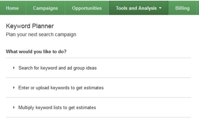 Cách sử dụng Keyword Planner công cụ SEO Google Adwords cong-cu-nghien-cuu-tu-khoa-1