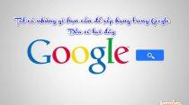 Tất cả những gì bạn cần để xếp hạng trong Google đều có tại đây