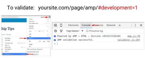 Web chuẩn Google AMP làm cách nào để kiểm tra 2016-02-28_195022