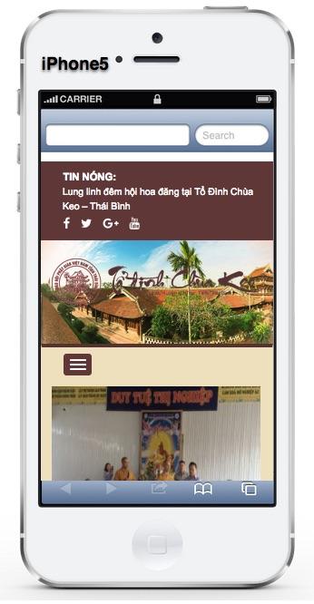 Tổ đình Chùa Keo Thái Bình: Chuakeo.com.vn chua-keo-iphone