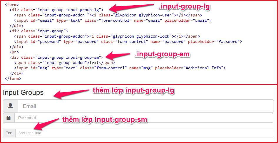 Bootstrap Inputs – bootstrap bài 2 04