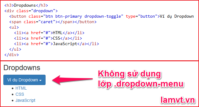 Bootstrap Dropdowns 2