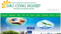 Hình ảnh giao diện của trang web Daucongnghiep.vn