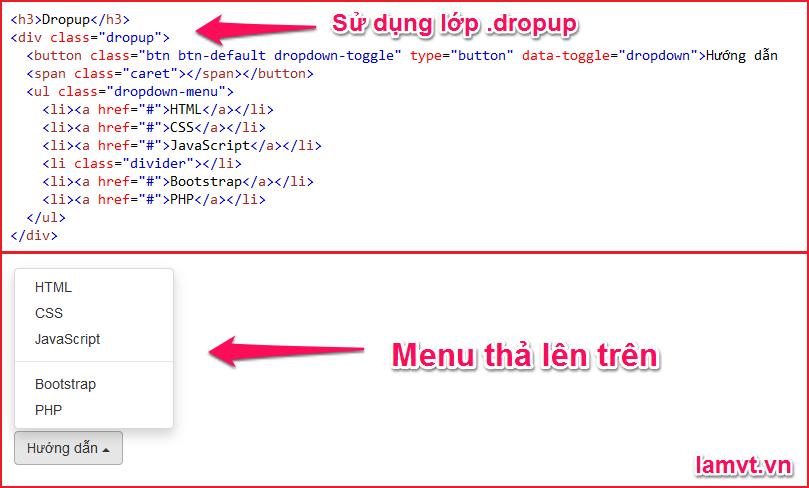 Bootstrap Dropdowns 7
