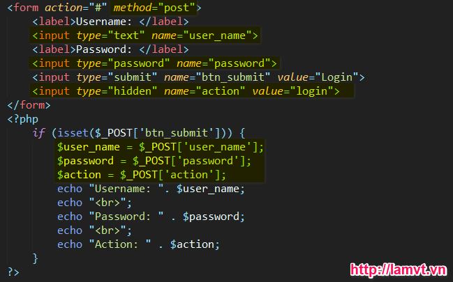 Thao tác với dữ liệu trên form get_data_textbox