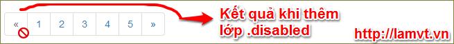 Bootstrap Pagination Phân trang trong bootstrap 6-1