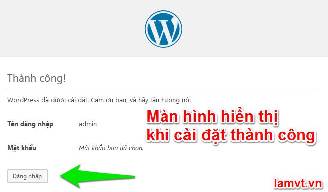 Hướng dẫn cài đặt WordPress trên Localhost 4.7.5 7