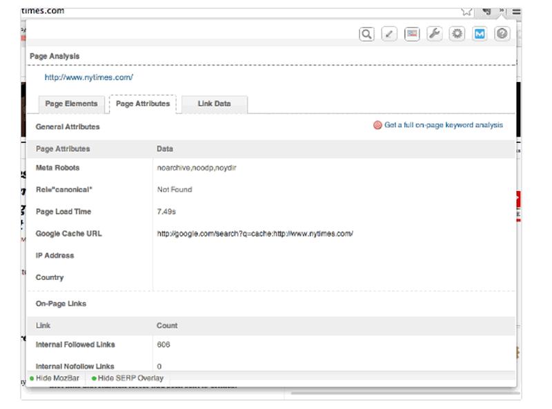 7 công cụ SEO miễn phí: Bí quyết giúp bạn phát triển Website MozBar5