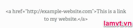 Tối ưu hóa mã nguồn Code Web cho SEO link