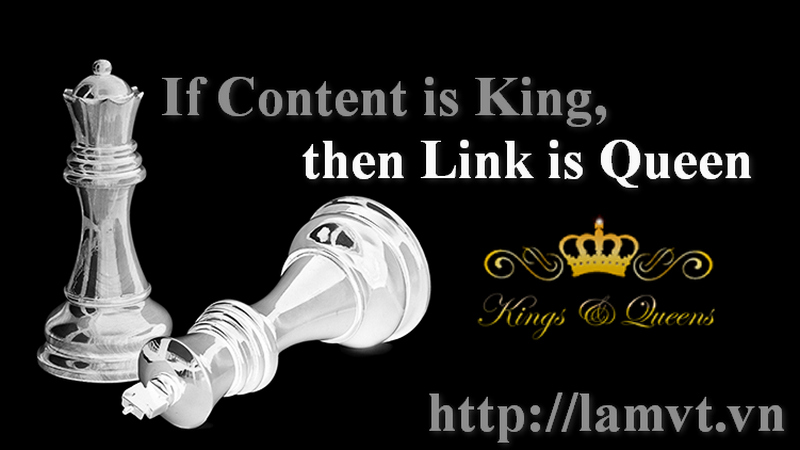 Content is king, Link is Queen