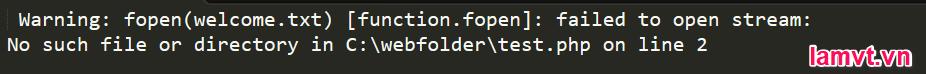 Cách xử lý lỗi trong PHP error-notification