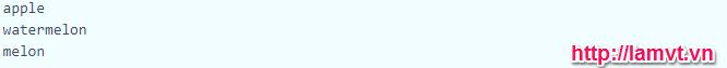 Mảng và các hàm hỗ trợ mảng trong PHP phần 2 (PHP Arrays) ket_qua_lap