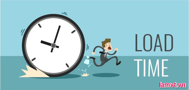 Làm thế nào để thiết kế Website thân thiện với SEO? load-time
