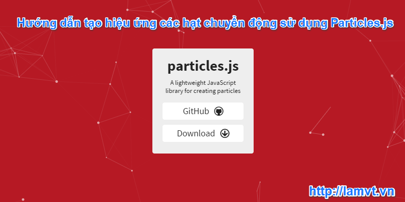 particles-javascript-library
