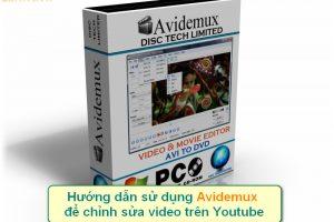 avidemux chinh sua video tren youtube