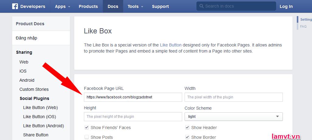 Làm thế nào để tối ưu hóa Fanpage Facebook cho SEO? facebook-page-url