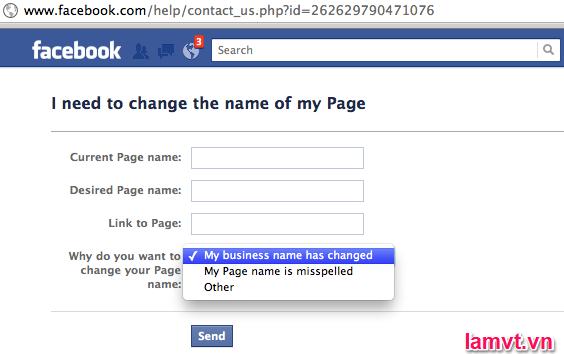 Làm thế nào để tối ưu hóa Fanpage Facebook cho SEO? fanpage-facebook-name